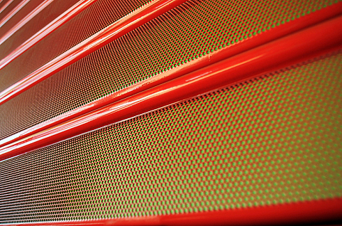 Grilaje Rulabile Microperforate